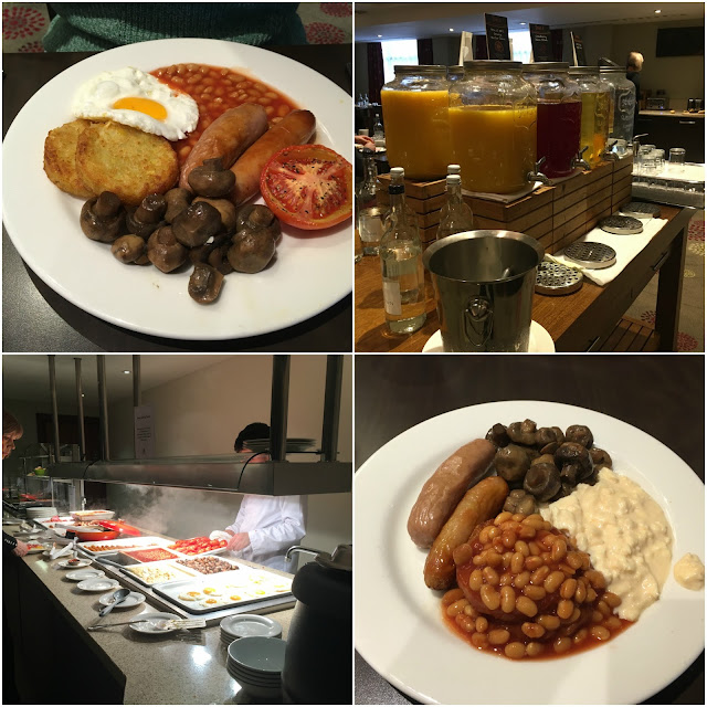 breakfast at the holiday inn kensington