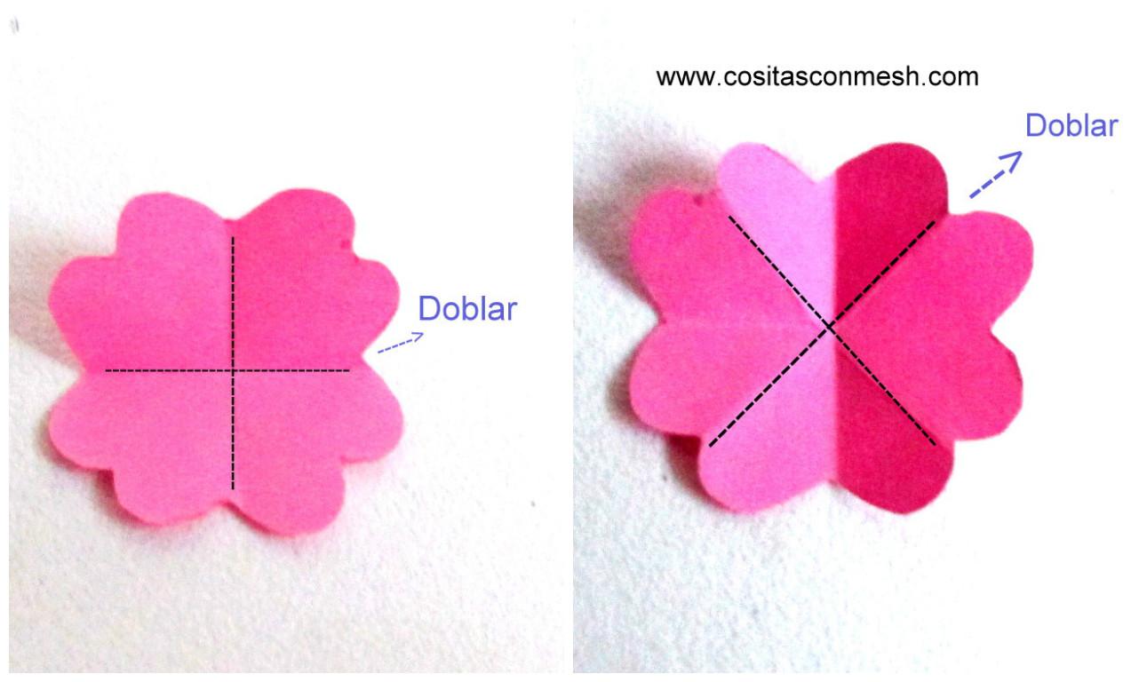 2 ideas para hacer flores de papel para regalos - Como hacer rosas de papel ...