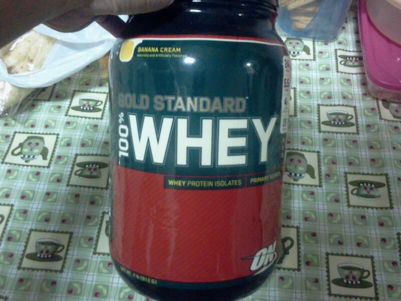 fef46a389 Relatando Suplementos   Relato  Gold Standard 100% Whey Optimum