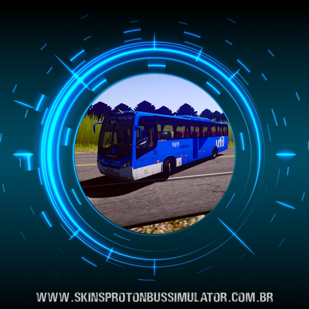 Skin Proton Bus Simulator - Neobus Spectrum Road 330 MB 4X2 OF-1722M Util