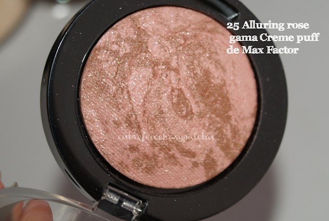 alluring rose max factor colorete