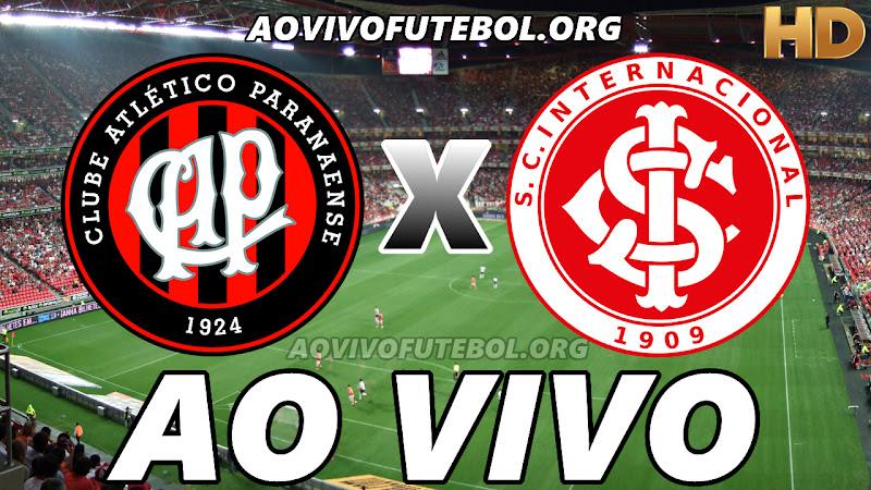 Atlético Paranaense x Internacional Ao Vivo Hoje em HD