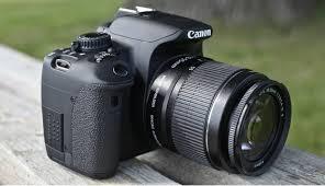 cara memakai kamera canon DSLR