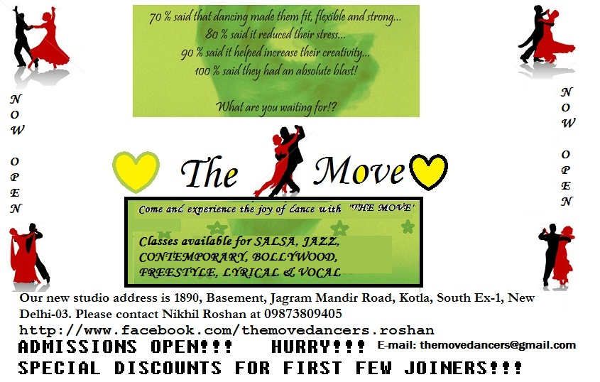 My Creations: Download our App THE MOVE dance class built by