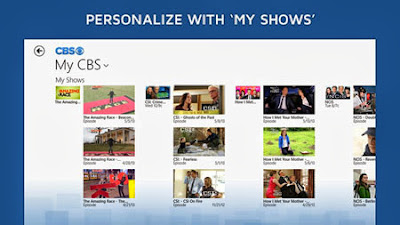 CBS for Windows 8 and RT