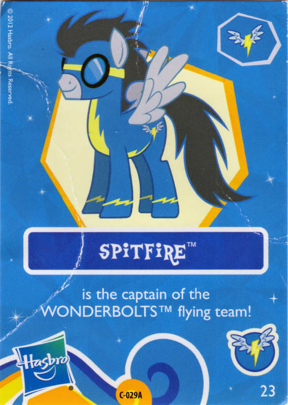 MLP Spitfire Blind Bag Cards MLP Merch