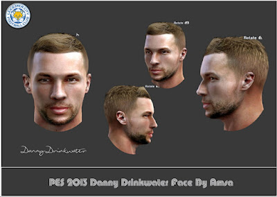 """PES 2013 Daniel Noel """"Danny"""" Drinkwater (Leicester City) Face"""