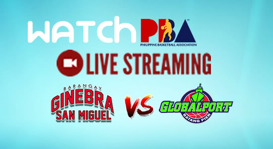 Livestream List: Ginebra vs GlobalPort game live streaming January 7, 2018 PBA Philippine Cup