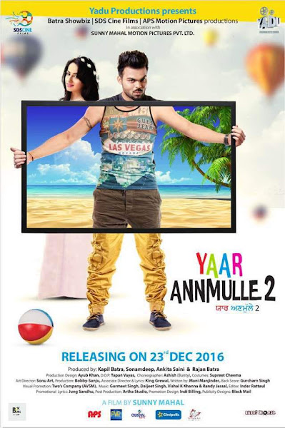Yaar Anmulle 2 (2016) Punjabi 480p pDVDRip Full Movie Download extramovies.in , hollywood movie dual audio hindi dubbed 720p brrip bluray hd watch online download free full movie 1gb Yaar Anmulle 2 2016 torrent english subtitles bollywood movies hindi movies dvdrip hdrip mkv full movie at extramovies.in