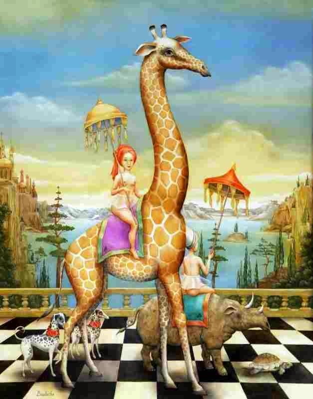 Фантастическое царство. Agnes Boulloche