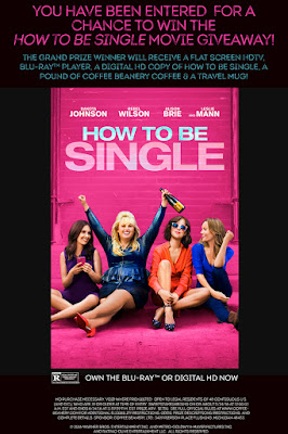 Enter the How to be Single Movie Giveaway. Ends 6/14