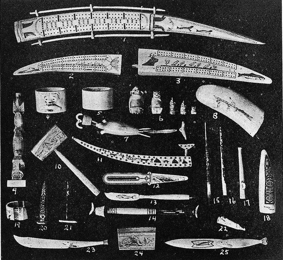 Catálogo de artesanías de marfil, Seattle, 1916