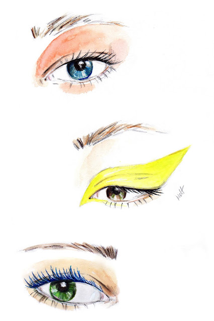 eye makeup illustration