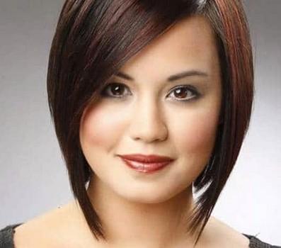 model rambut pendek wanita wajah bulat