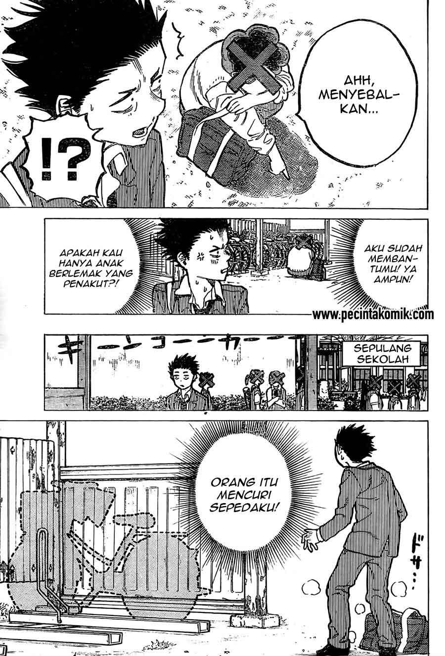 Koe no Katachi Chapter 08-10