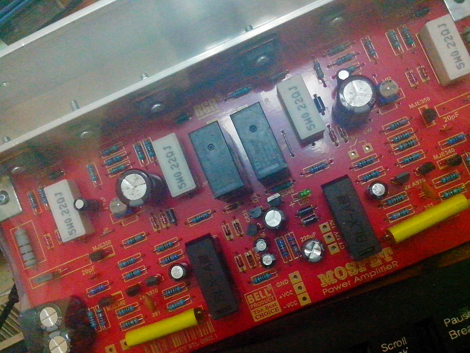 Harga Kit Power Amplifier Mosfet