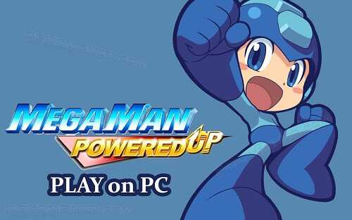 Mega Man Powered Up ISO PSP