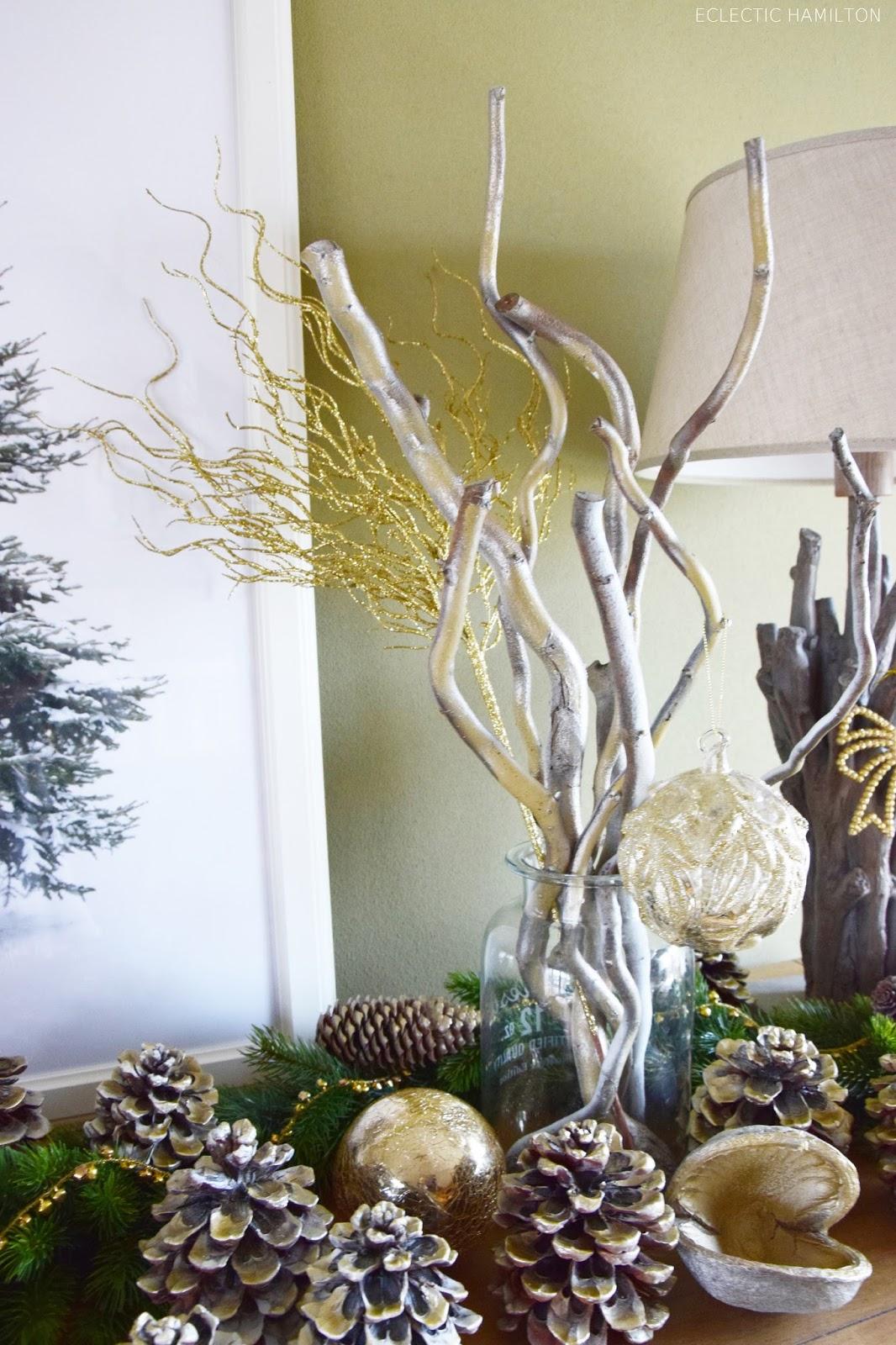 Golden Christmas Glanz F Rs Sideboard Ein Goldenes Diy