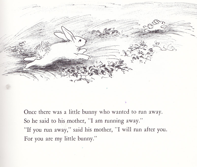 the marlowe bookshelf: The Runaway Bunny