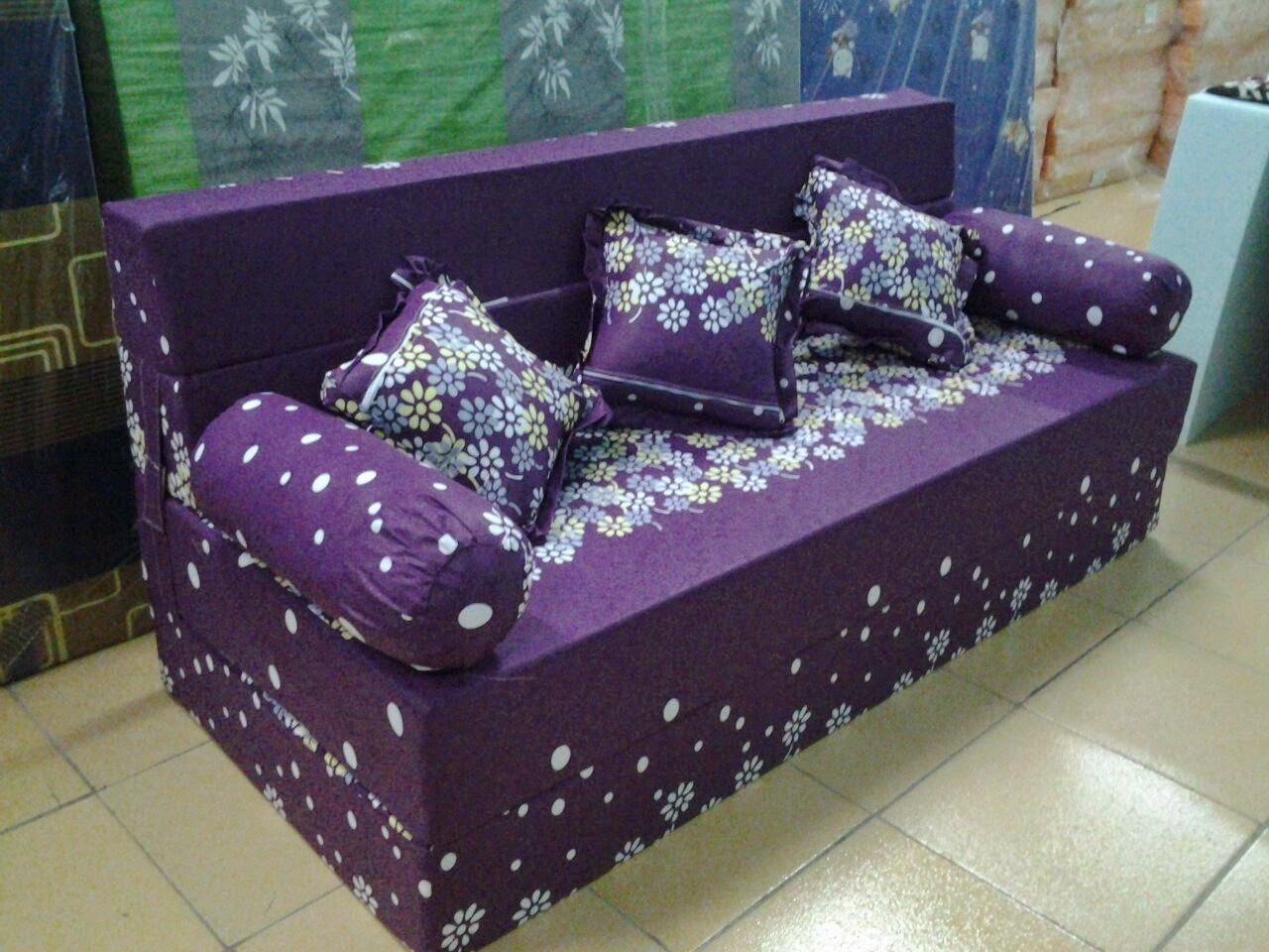 harga cover sofa bed inoac purple velvet couch popi ungu nikita aneka produk foam