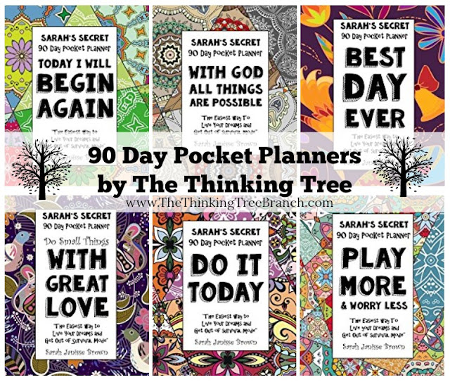 90 Day Pocket Planners by The Thinking Tree