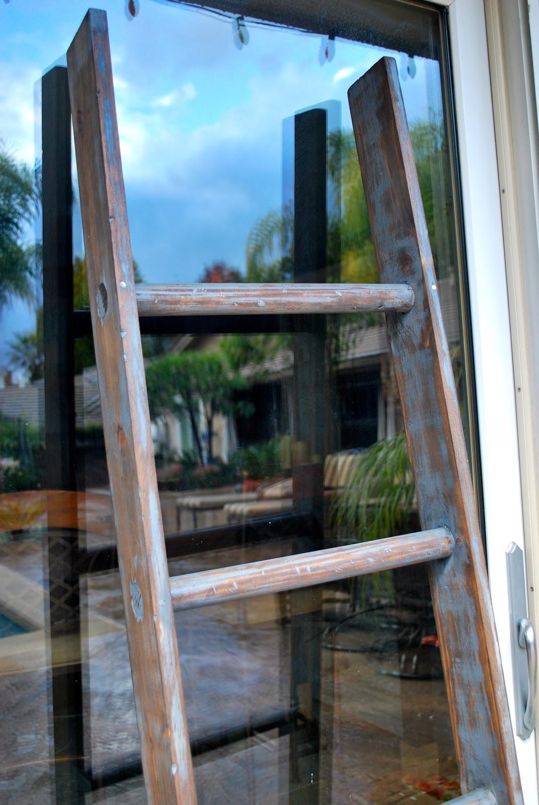 Saleena Diy Vintage Ladder Part 2
