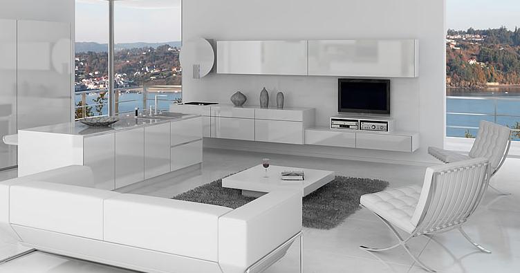 Muebles de cocina tablero marino