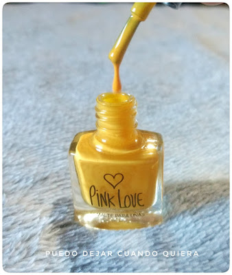 Esmalte amarillo Pink Love