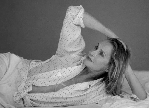 Tinuku.com Calvin Klein and Coppola chose Lauren Hutton, 73, for underwear model