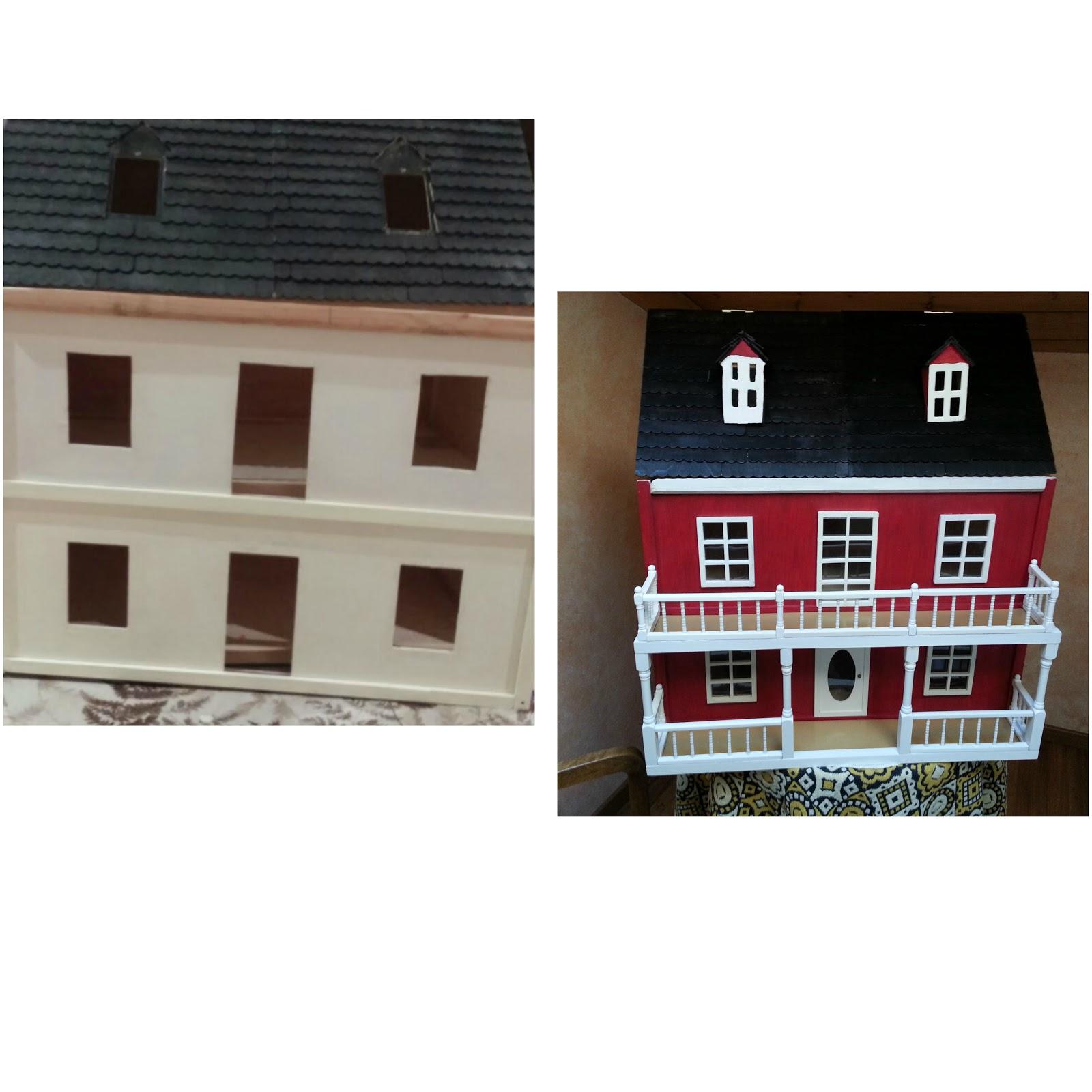 Crea construye recicla y restaura: Casa de muñecas como regalo especial.