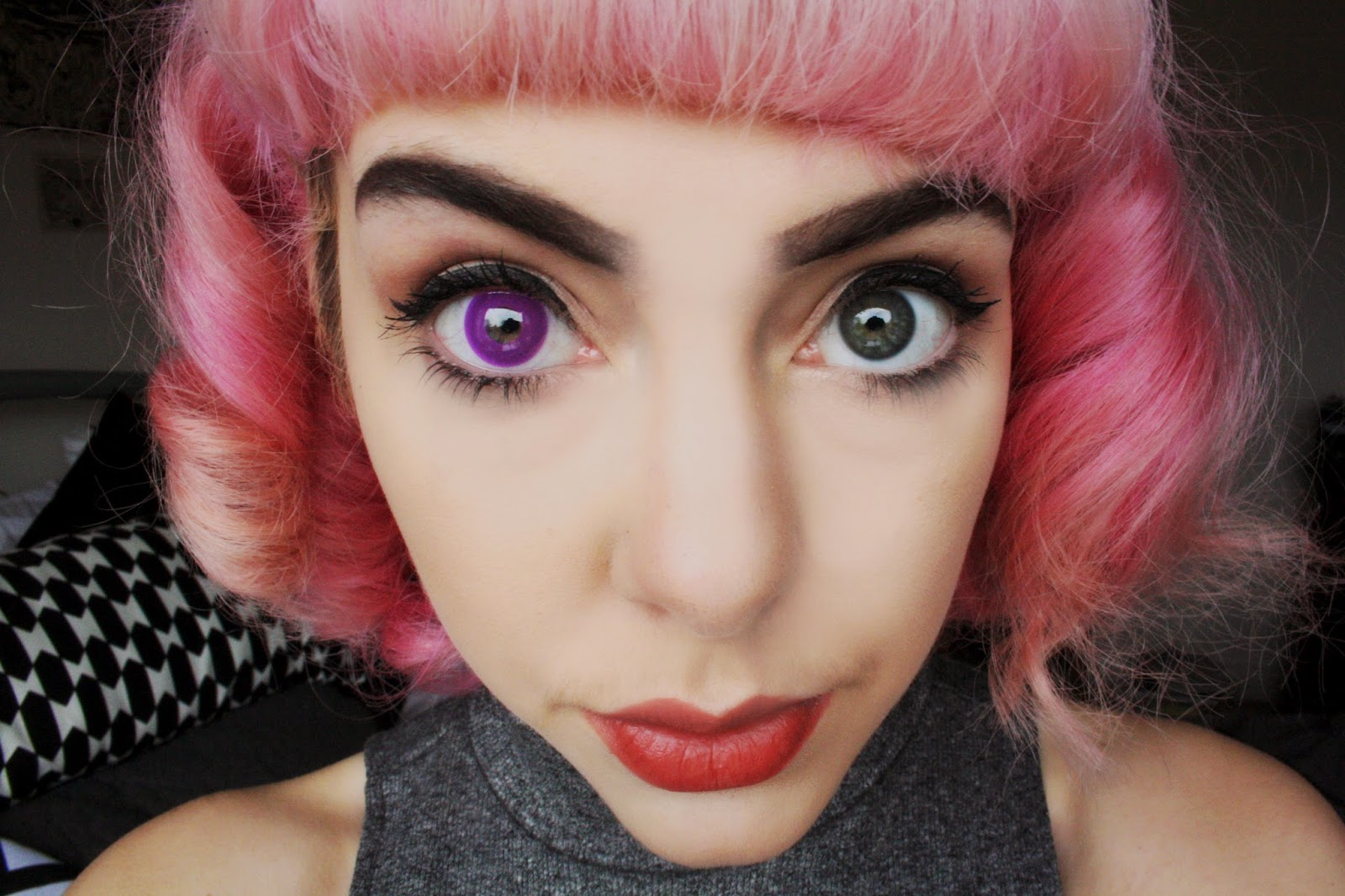 Spooky Eyes Contact Lenses Review | Dream Eyes | HEART ...