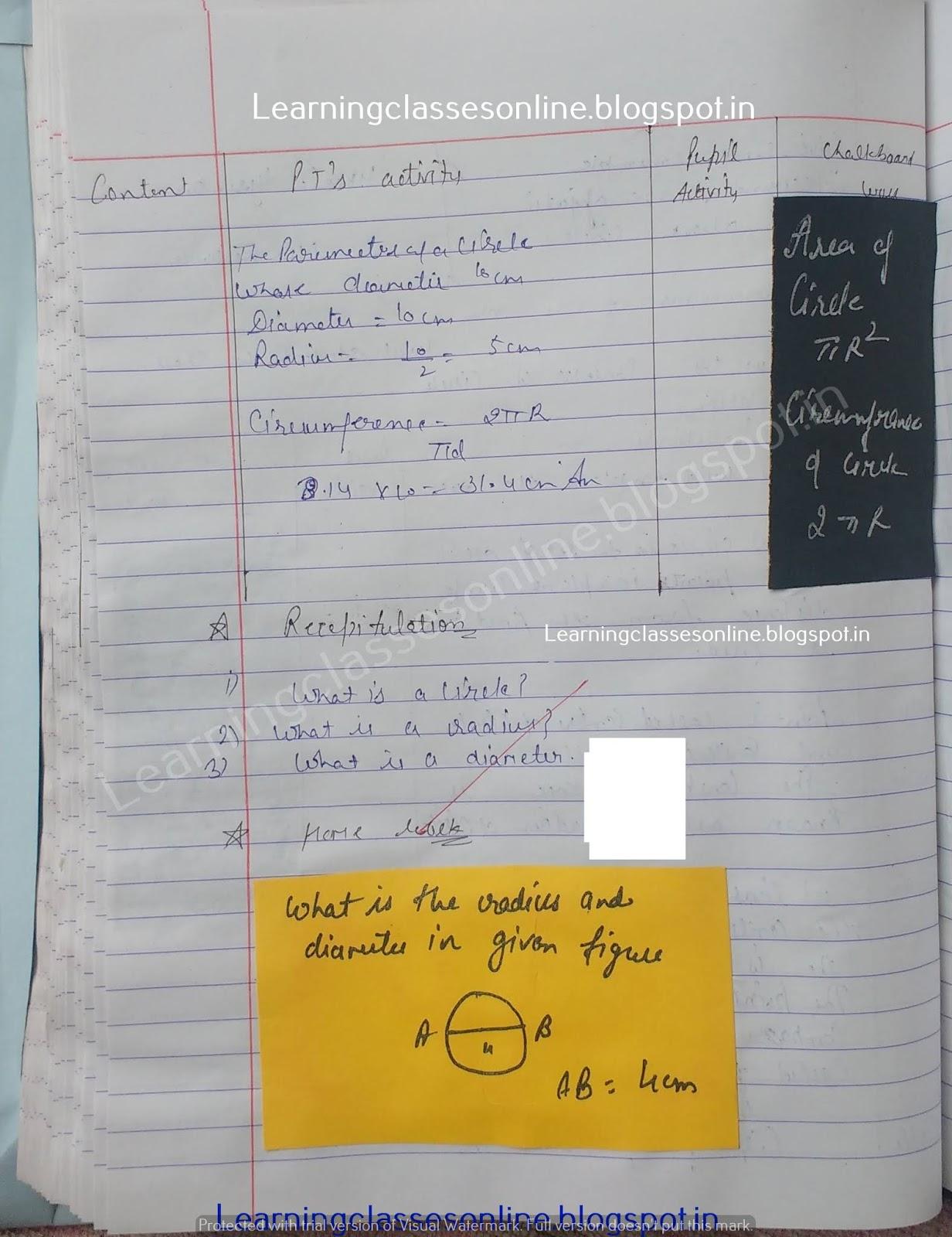 Lesson Plan In Math Grade 7,