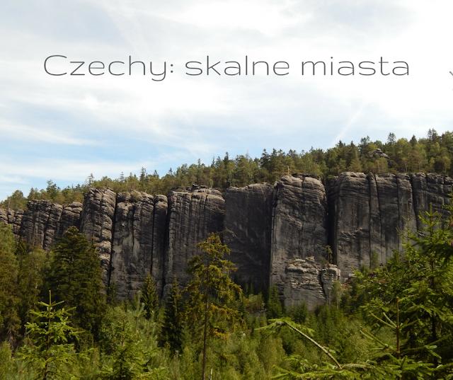 Skalne miasto czechy Adrspach