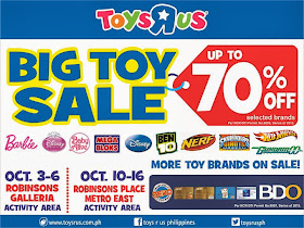 Manila Shopper Toys R Us Big Toy Sale Oct 2013