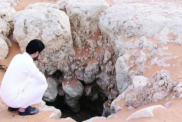 Keajaiban Sumur Buatan Jin Nabi Sulaiman, Penampakanya Bikin Merinding!!