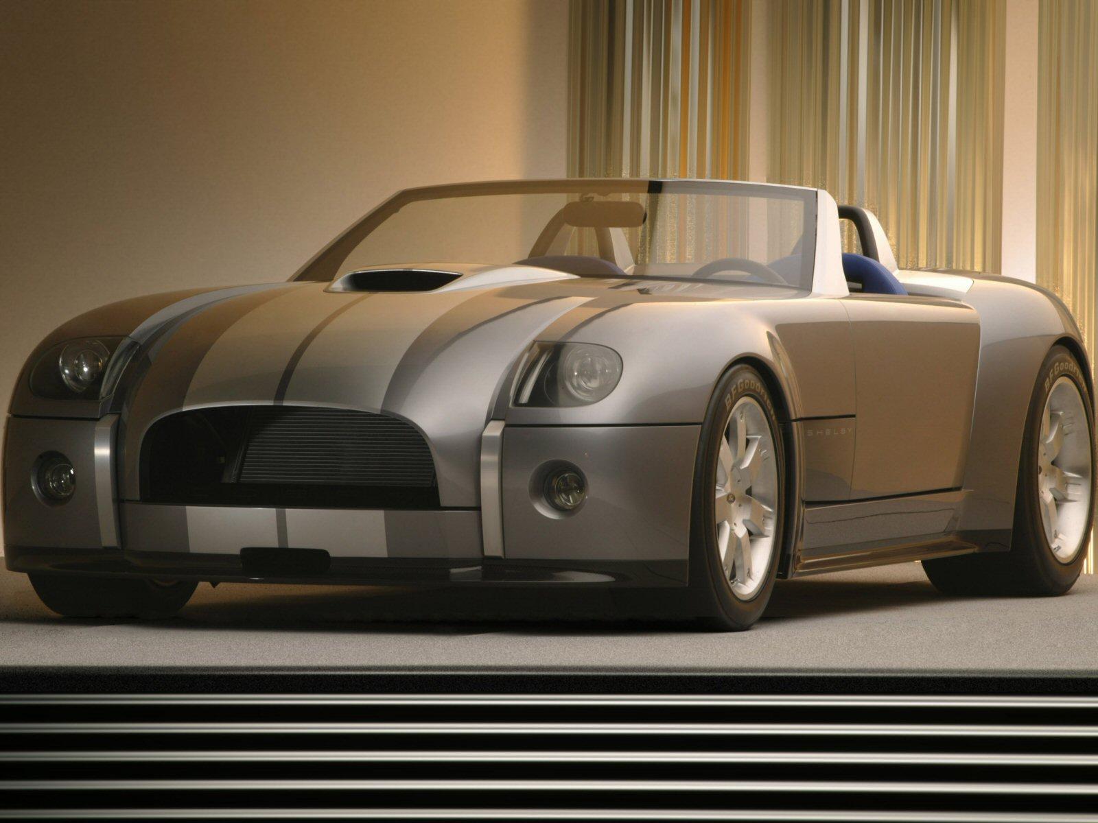 Ford Shelby Cobra Concept on 4 6 Liter Cobra Engine