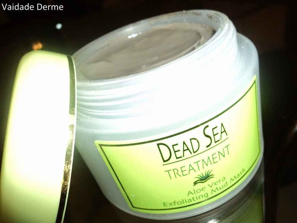 Dead Sea Treatment Aloe Vera Exfoliating Mud Mask | Argila do Mar Morto