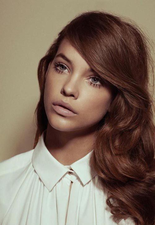 light mahogany hair color inspiration