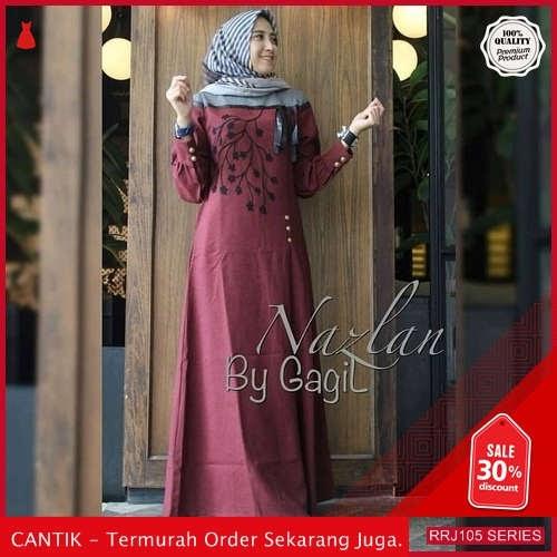 Jual RRJ105D179 Dress Nazlan Dress Wanita Balotelly Sk Terbaru BMGShop