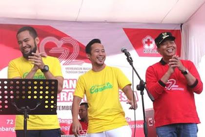 Pelawak Deny Cagur pun Melirik Kota Pekanbaru