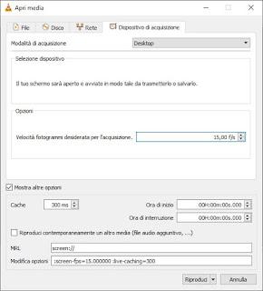 Schermo VLC