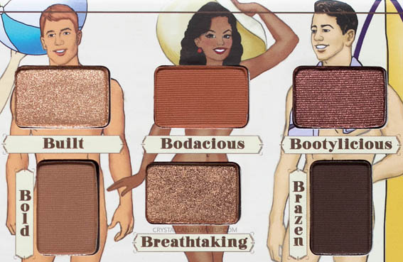 The Balm Nude Beach Eyeshadow Palette Review