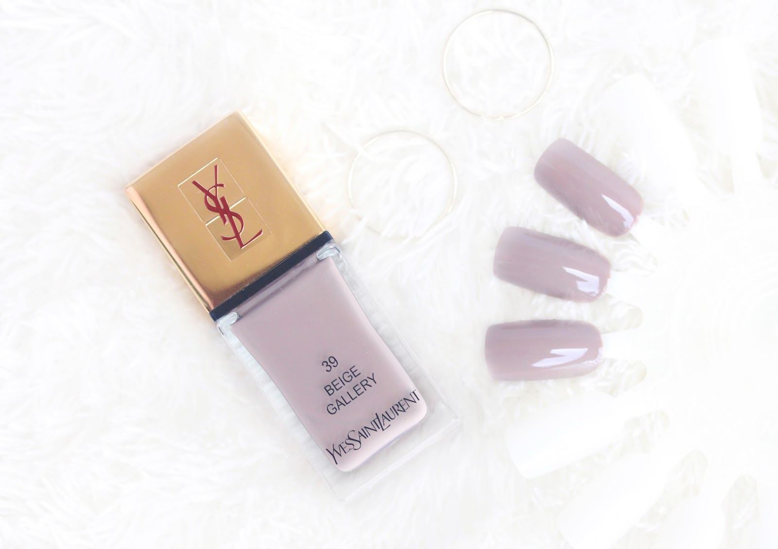 YSL La Laque Couture Nail Polish in 39 Beige Gallery