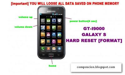 شرح و توضيح عمل فورمات لجهاز Galaxy S2 و Galaxy S