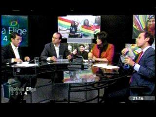 Tuto Quiroga dando lecciones de comunicación política en Bolivia Tv