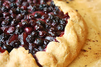 Rustic Blueberry-Plum Galette