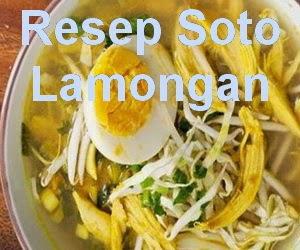 Resep Soto Ayam Lamongan Mantap