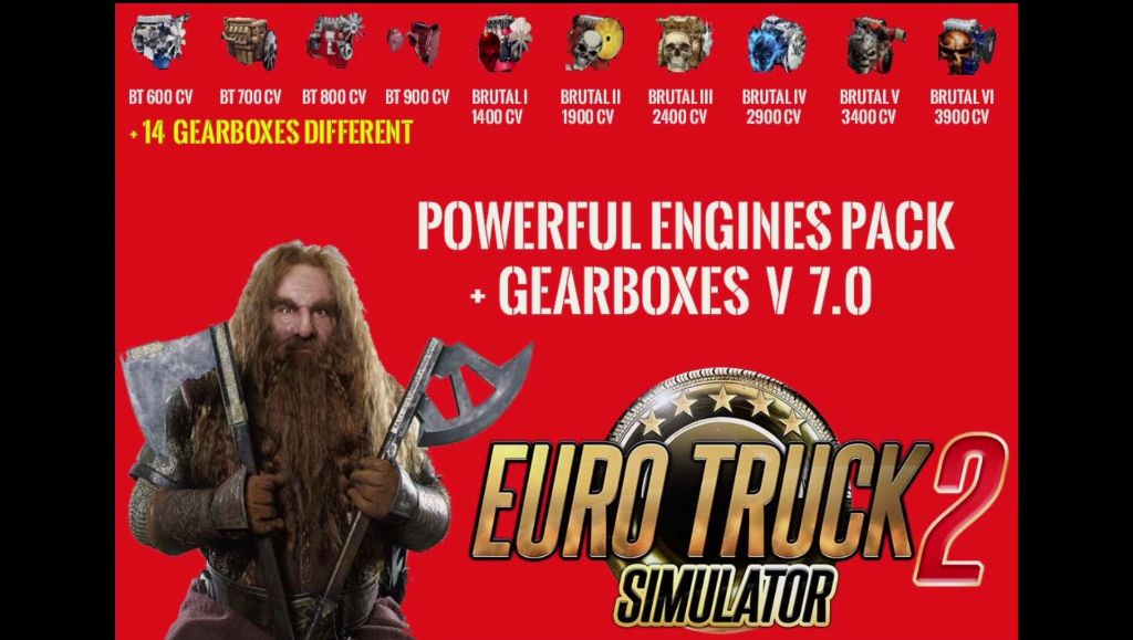 Powerful Engines & Gearboxes Pack V 7.0