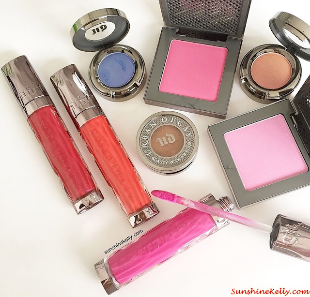Urban Decay Summer 2015 Review, Urban Decay Malaysia, Urban Decay, After Glow 8 Hours Powder Blush, Urban Decay Summer 2015 Eyeshadow, Urban Decay Revolution High-Color Lipgloss, uders, cult makeup brand, cult brand