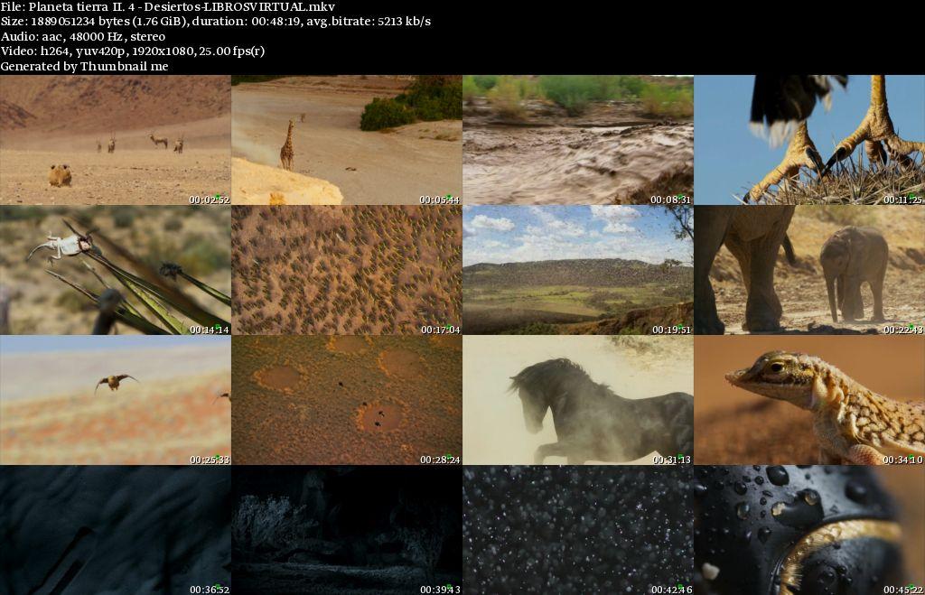 Planeta Tierra II: 4 – Desiertos [BBC – HD1080p]